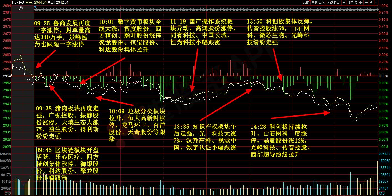 """「900948股吧」,10月23日主题复盘丨""""二师兄""""持续发力"""